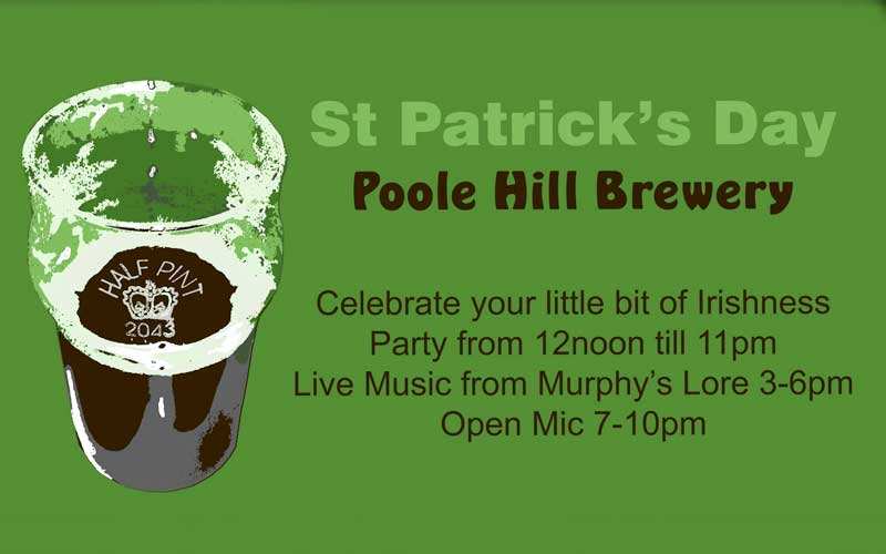 Poole Hill Brewery - St Patrick's Day