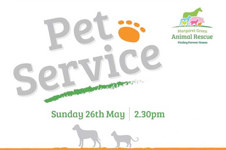 Pet (Church) Service at Corfe Castle