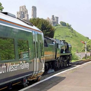 Catch a Mainline Train to Corfe Castle this summer!