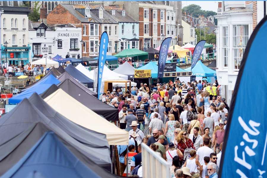 Weymouth - Nyetimber Dorset Seafood Festival 2020