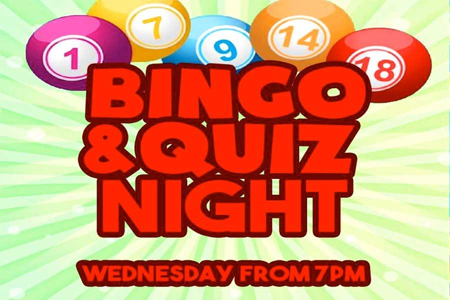 Bingo & Quiz Wednesdays