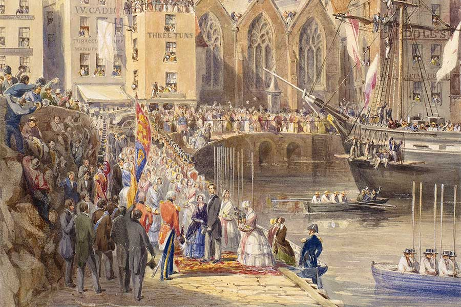 Poole - Victoria & Albert: Our Lives in Watercolour