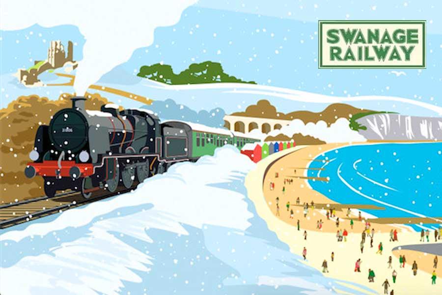 Swanage Railway - Santa Express