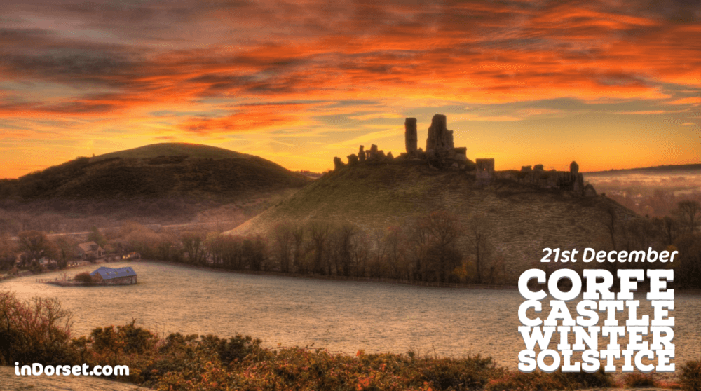 Corfe Castle - Winter Solstice 2019
