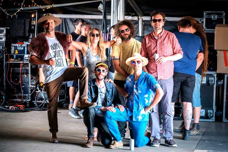 Winterborne Stickland  - The Orange Circus Band