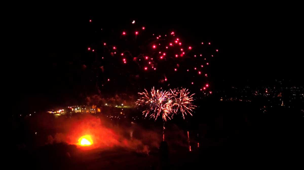 Sherborne Fireworks 2019
