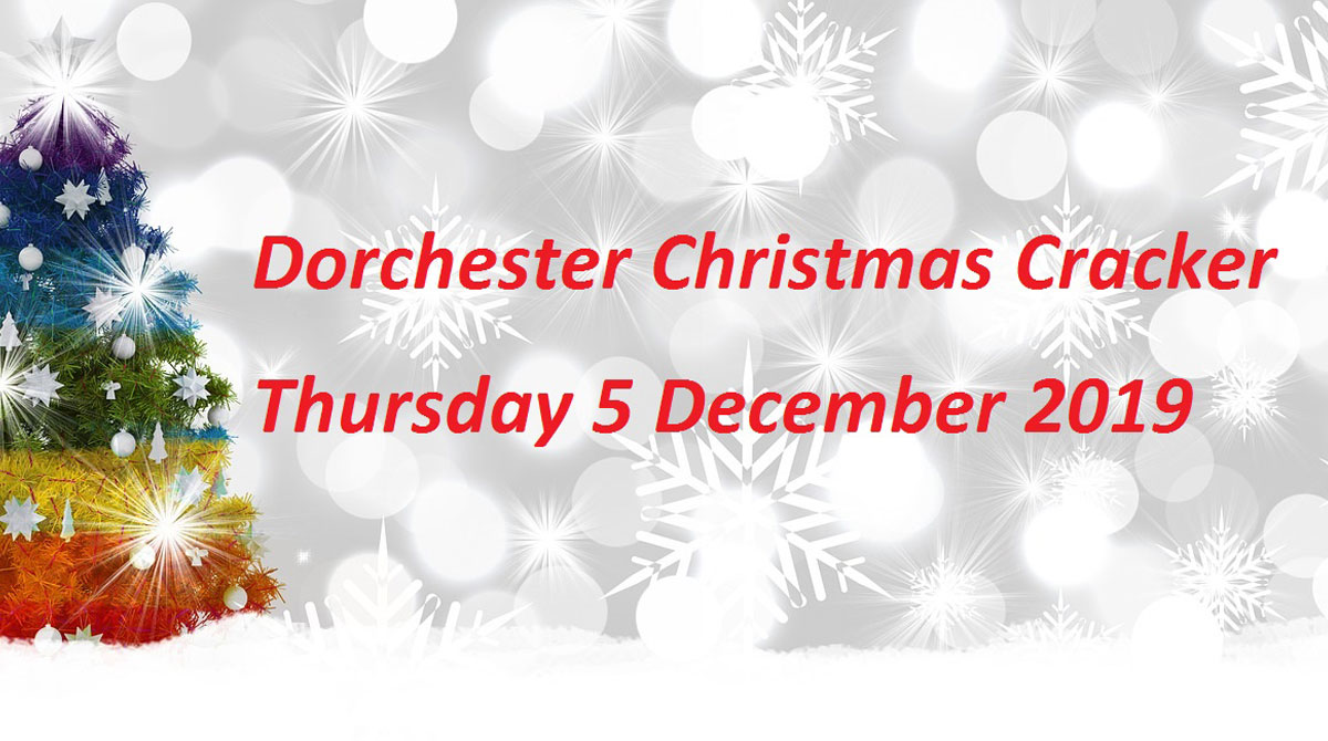 Dorchester Christmas Cracker Lights Switch On 2019