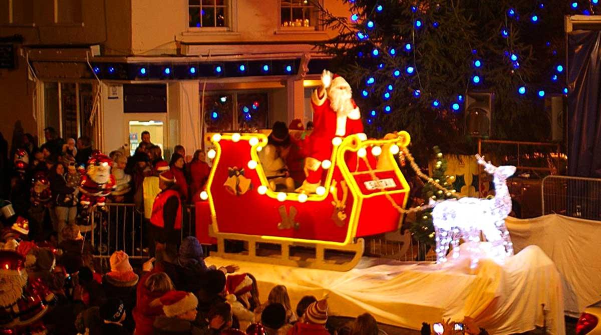 Wareham Christmas - Father Christmas 2019