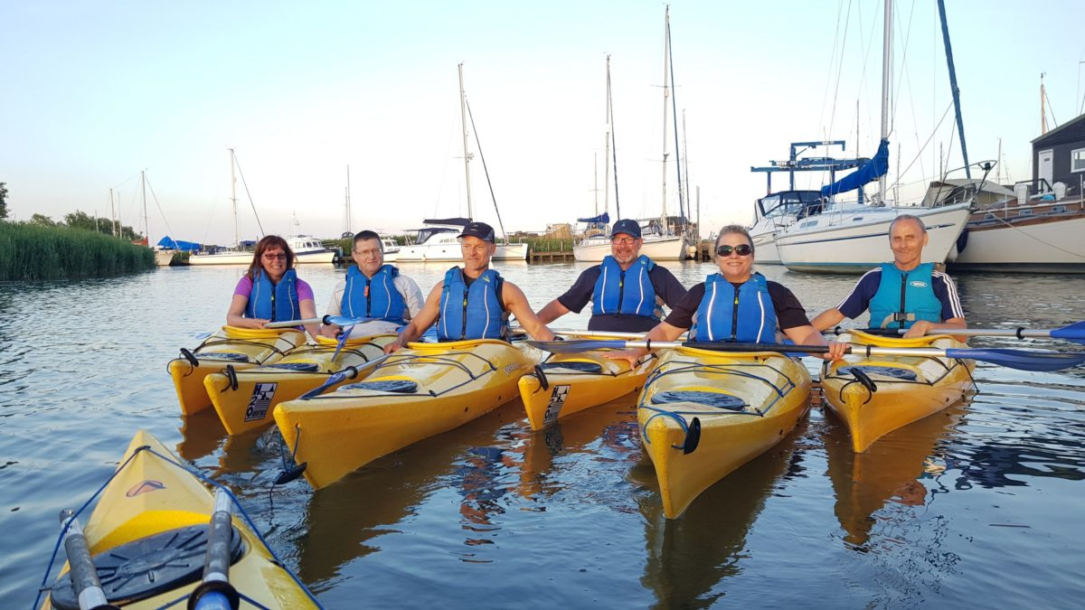 6 week River to Sea kayak coaching course