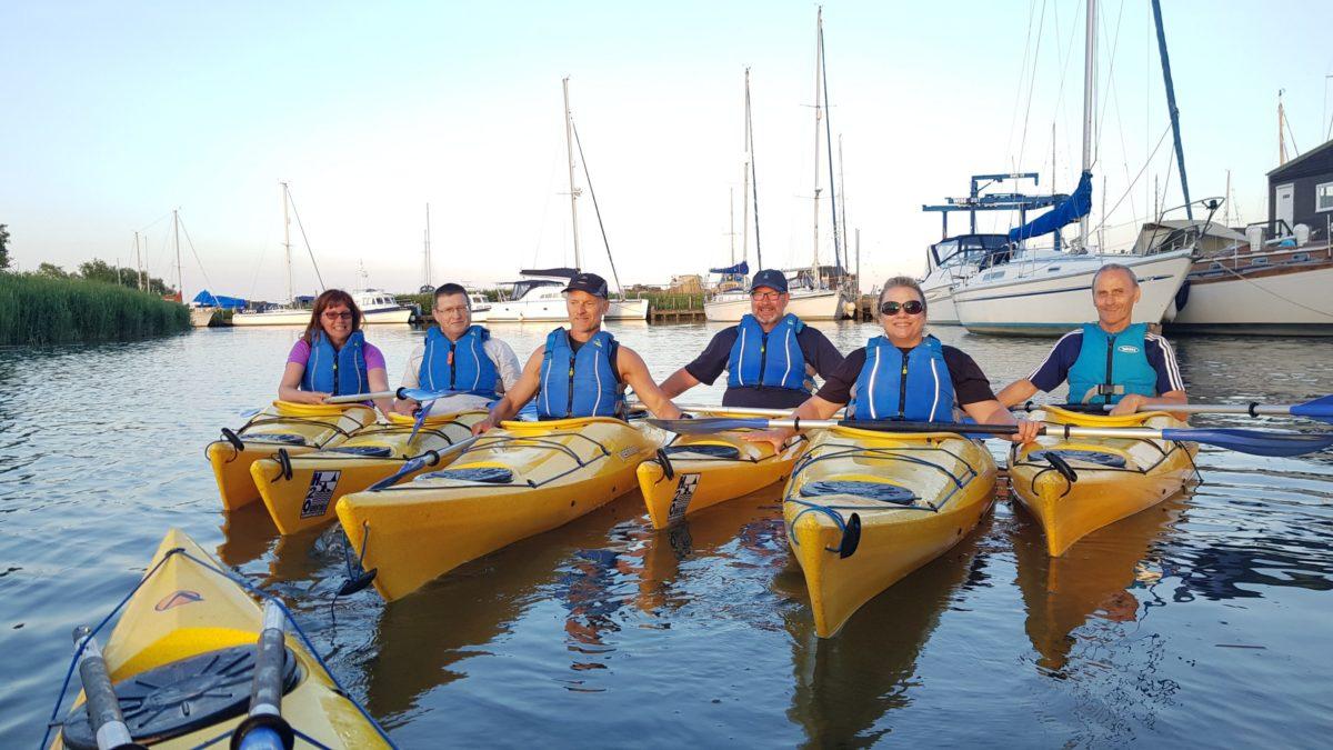 6 week River to Sea kayak coaching course