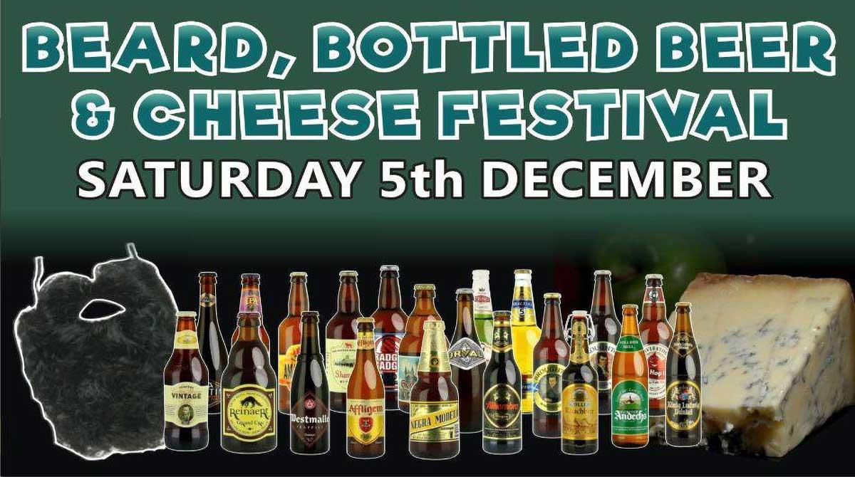 Beard, Bottled Beer & Cheese Festival 2020