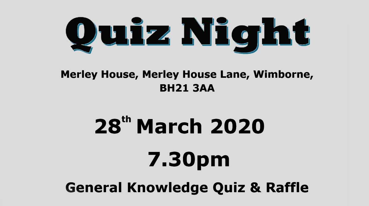 Merley House - Charity Quiz Night