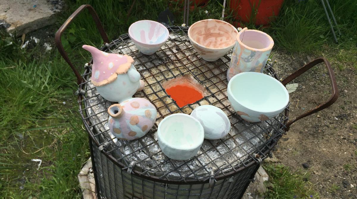 2 Day Raku Workshop – September: Make, Glaze and Fire