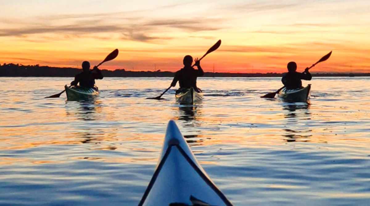 Night Paddle, Wild Bivi & Sunrise Sup