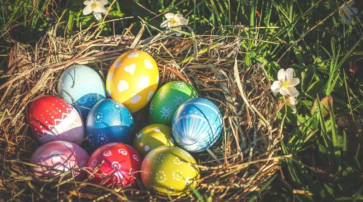 Easter Egg Hunts at Corfe Castle 2021