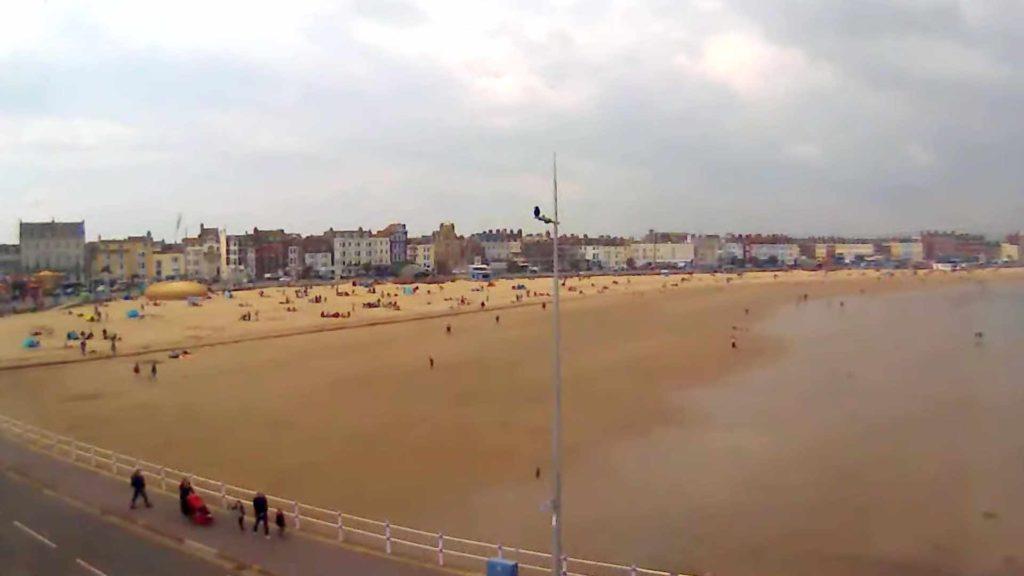 Dorset Webcam Weymouth Beach
