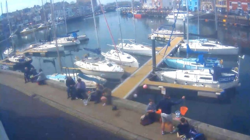 Dorset Webcam Weymouth Old Harbour