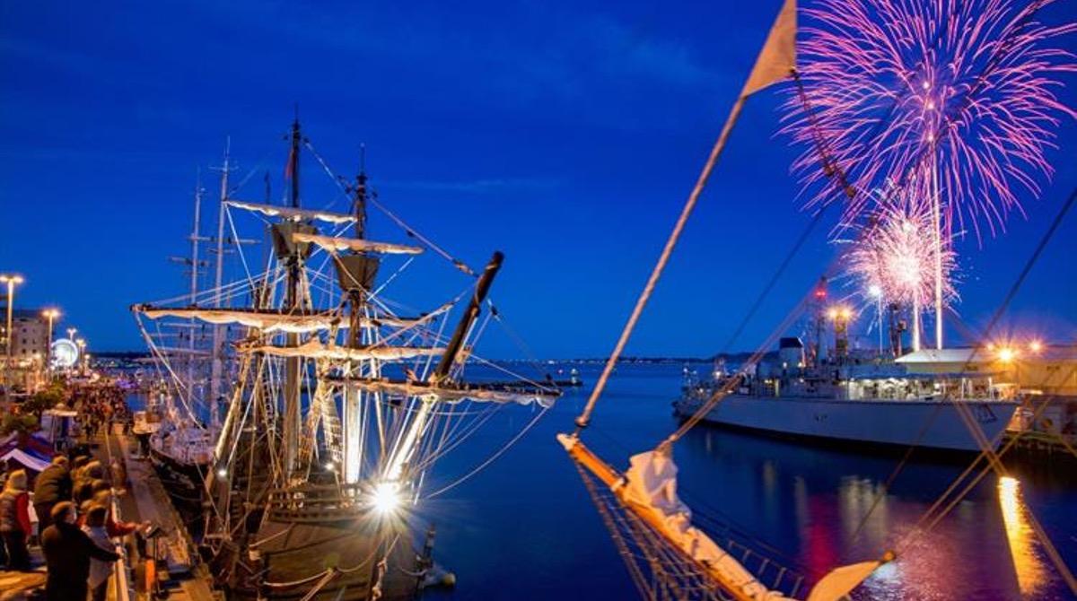 Poole Quay Summer Fireworks